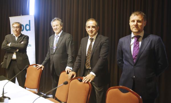 Francisco Barbeito, Jaime Borrás, Andrés Alonso y Anxo Mourelle