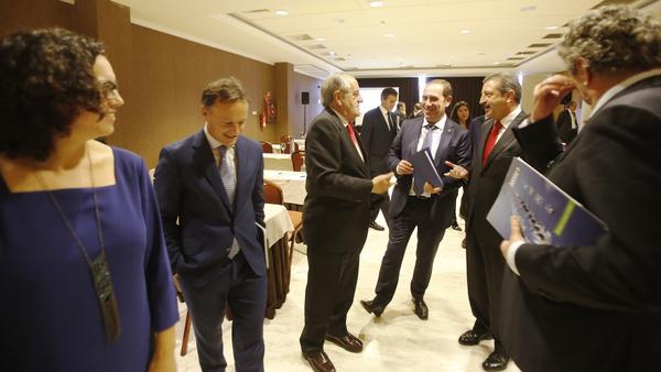 Jornada sobre la empresa familiar celebrada en sptiembre en el hotel Oca Puerta del Camino de Santiago.
